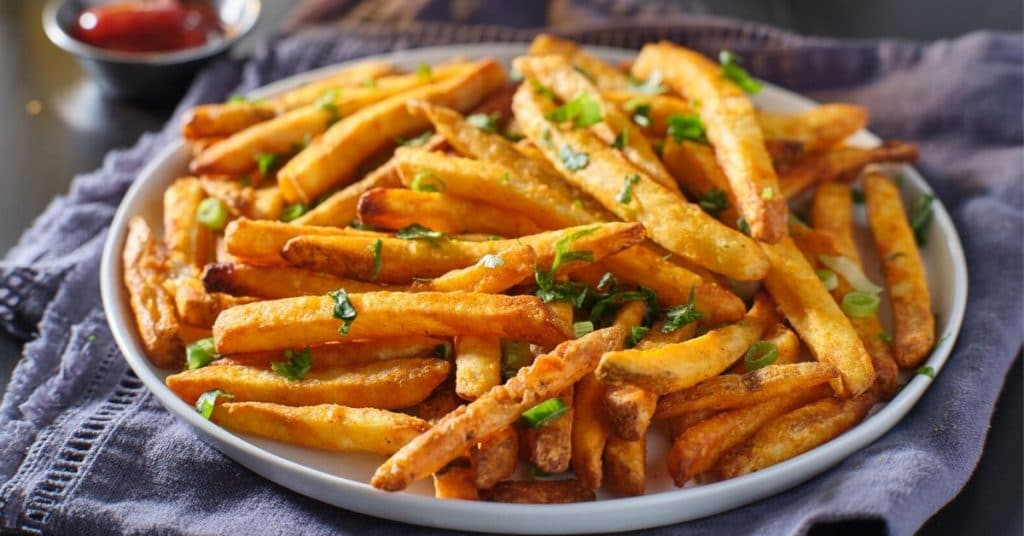 reheat french fries