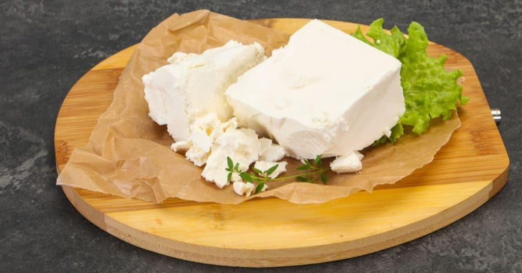 freeze goat cheese