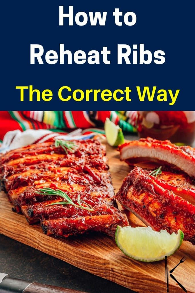 reheating ribs in oven