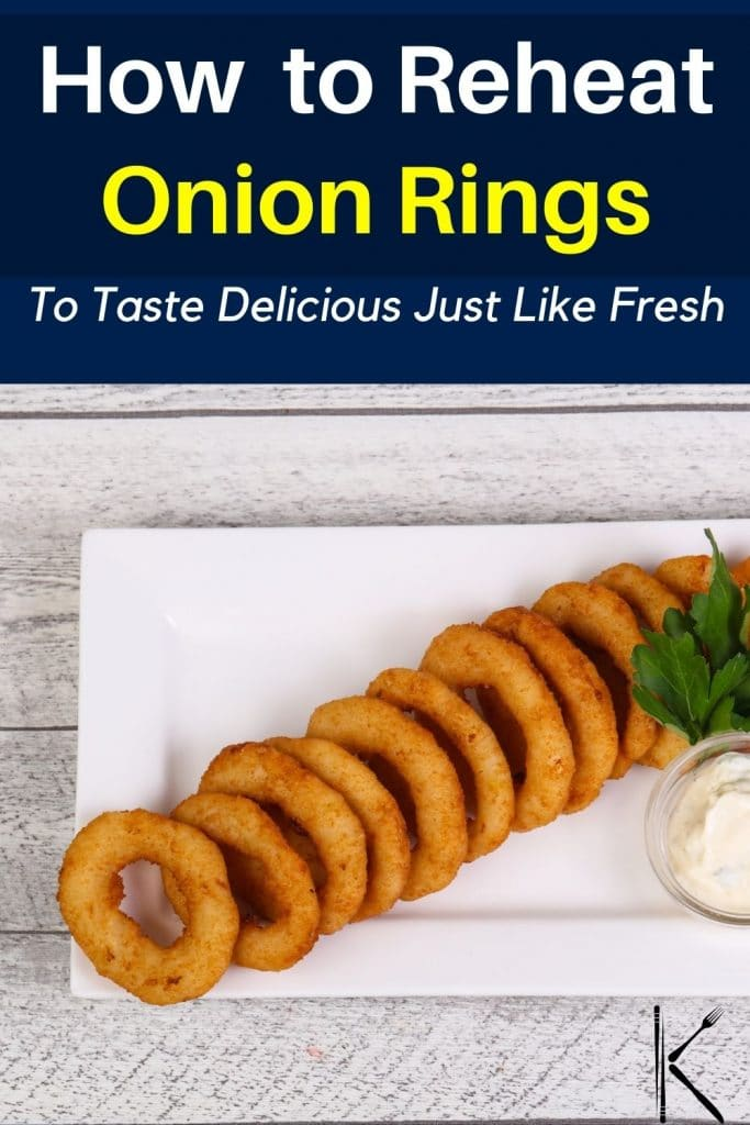 reheat onion rings in oven
