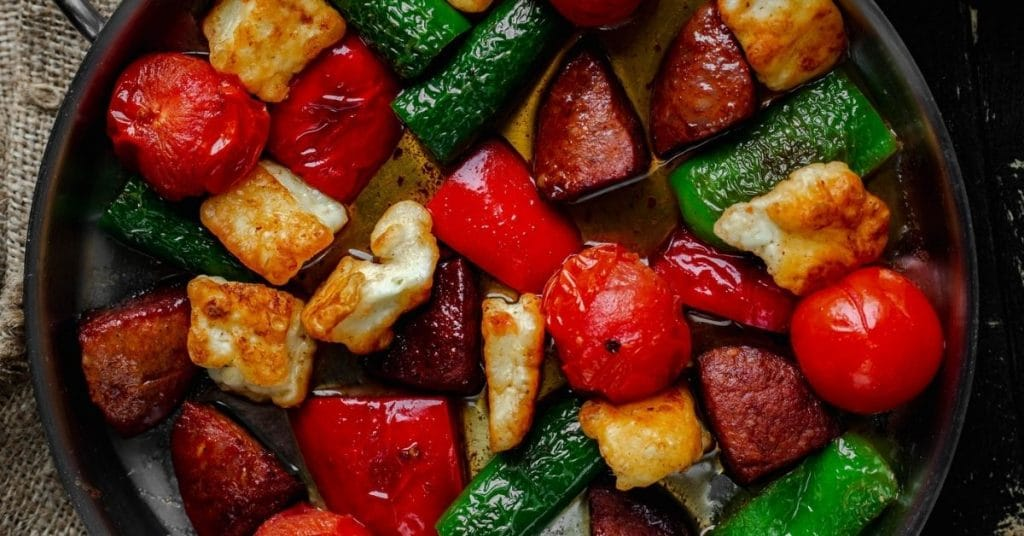 reheat roasted vegetables