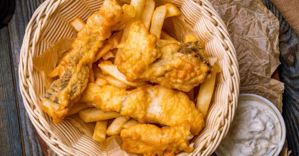 reheat fish and chips