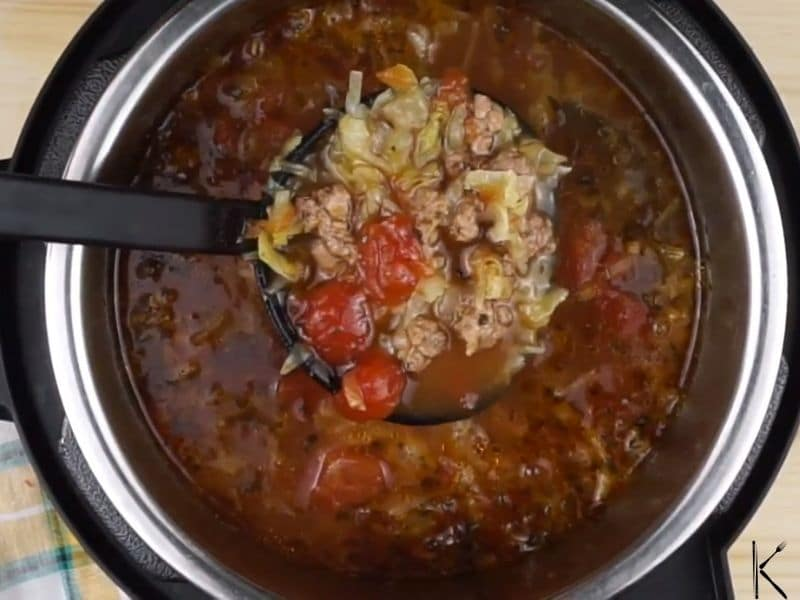 reheating vegetable soup