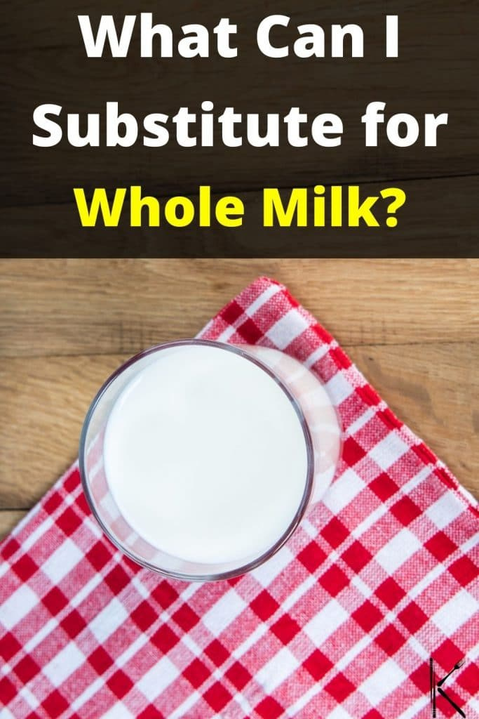 whole milk replacement